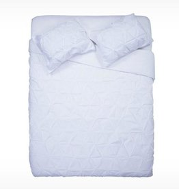 EQ3 Moncton Duvet White - King