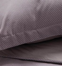 EQ3 Trax Duvet Set Grey - Queen