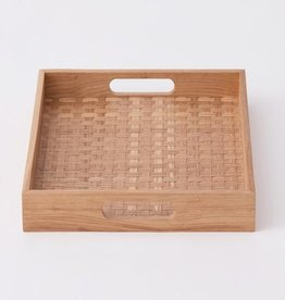 EQ3 Weave Tray Oak - Square