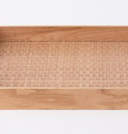 EQ3 Weave Tray Oak - Rectangle