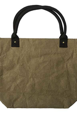 Papercraft Tote - Olive