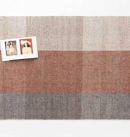 EQ3 Tartan Rug Wool Blue/Red