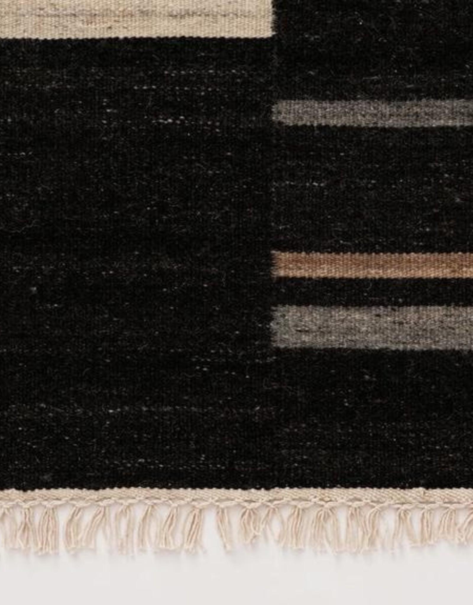 EQ3 Nomad Rug Wool Black