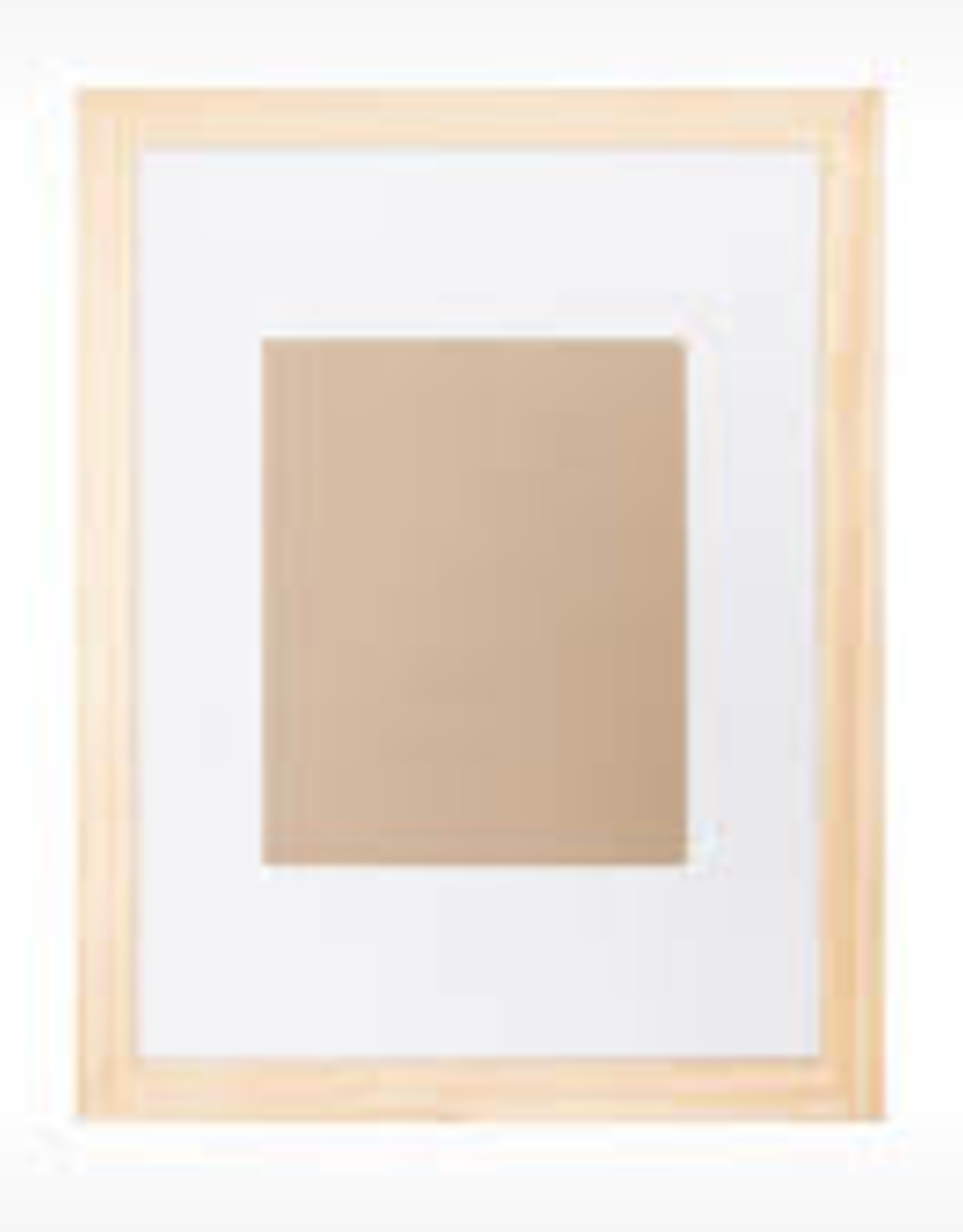 EQ3 Edge Picture Frame-Natural Small