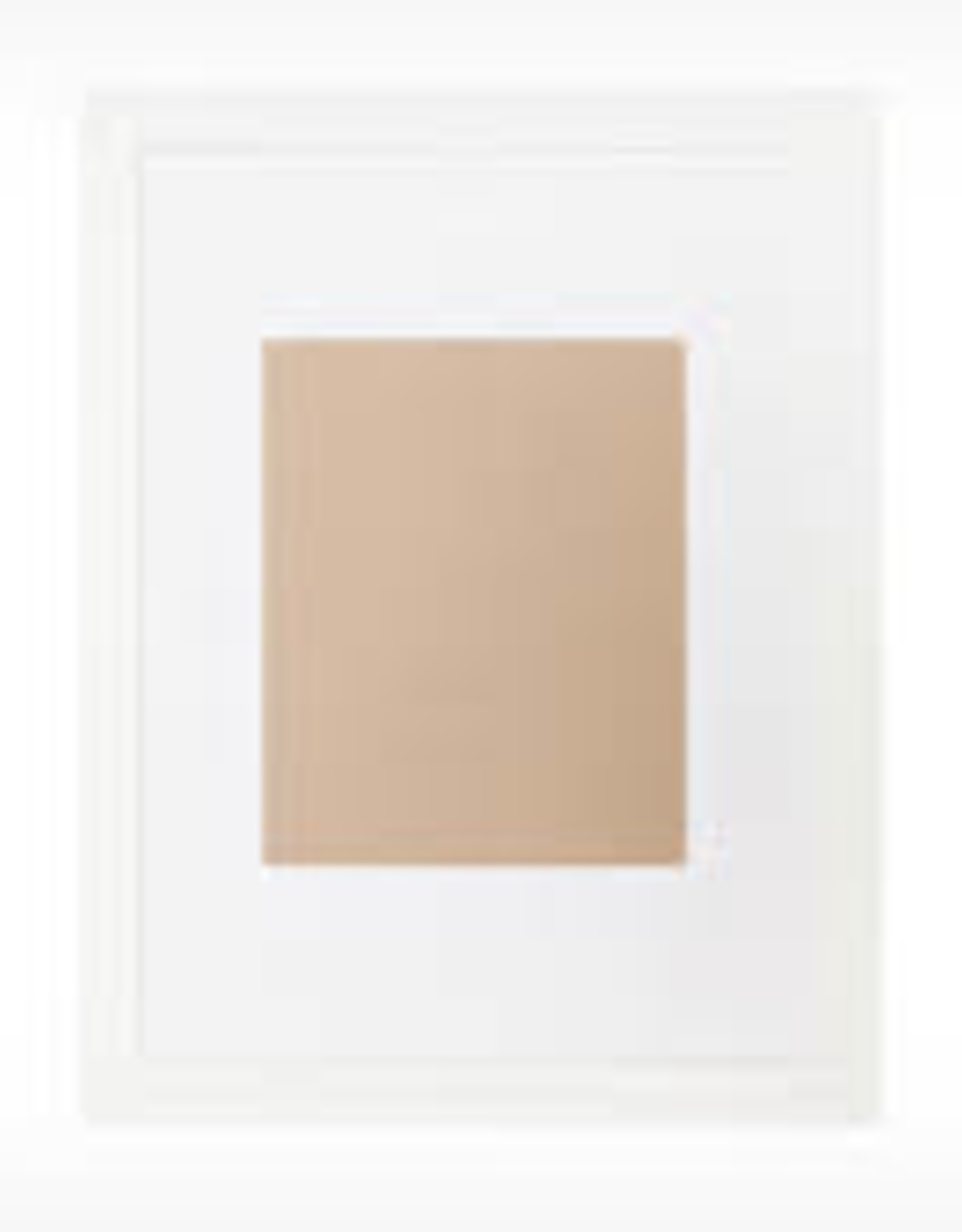 EQ3 Edge Picture Frame-White Small