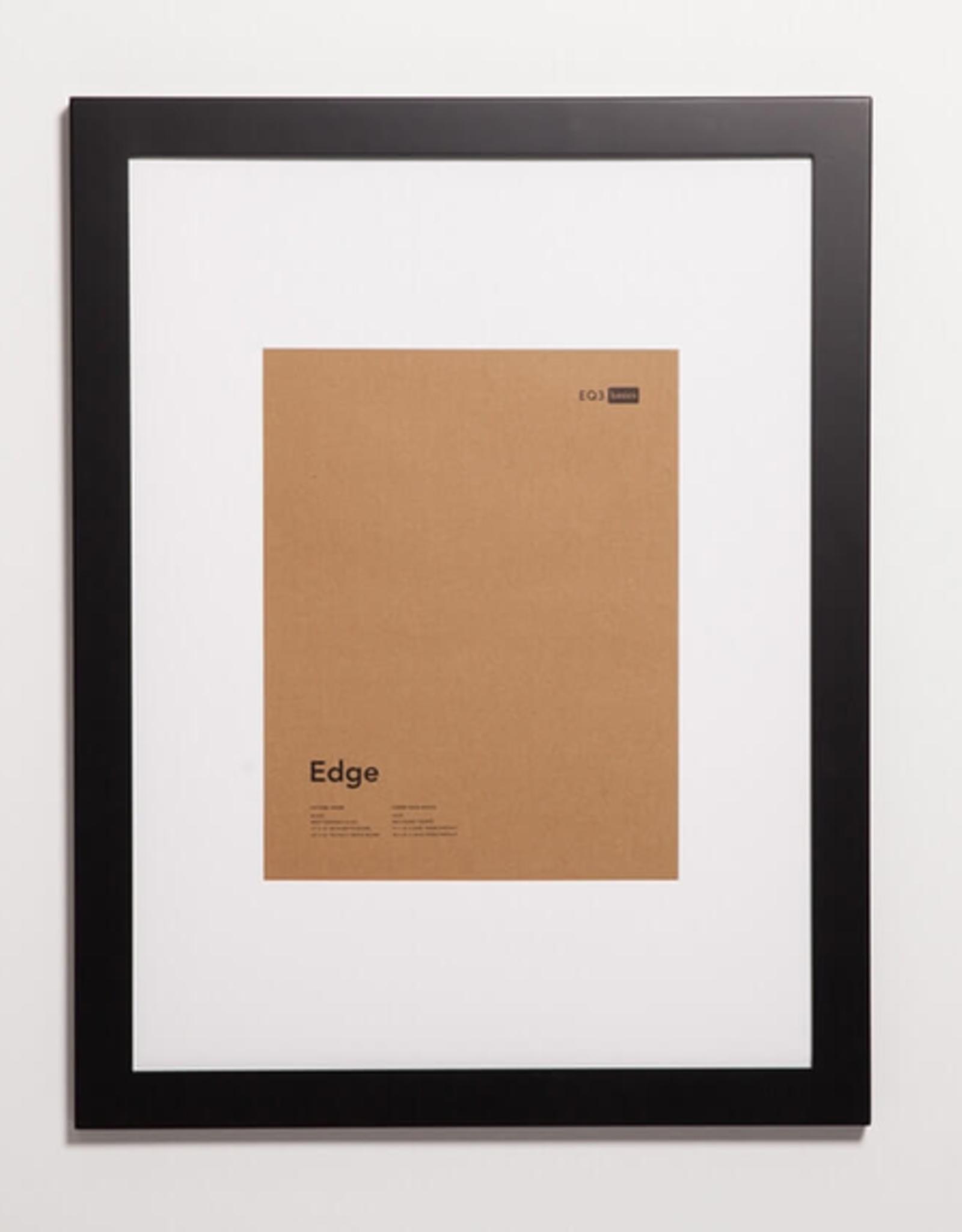 EQ3 Edge Picture Frame-Black Medium