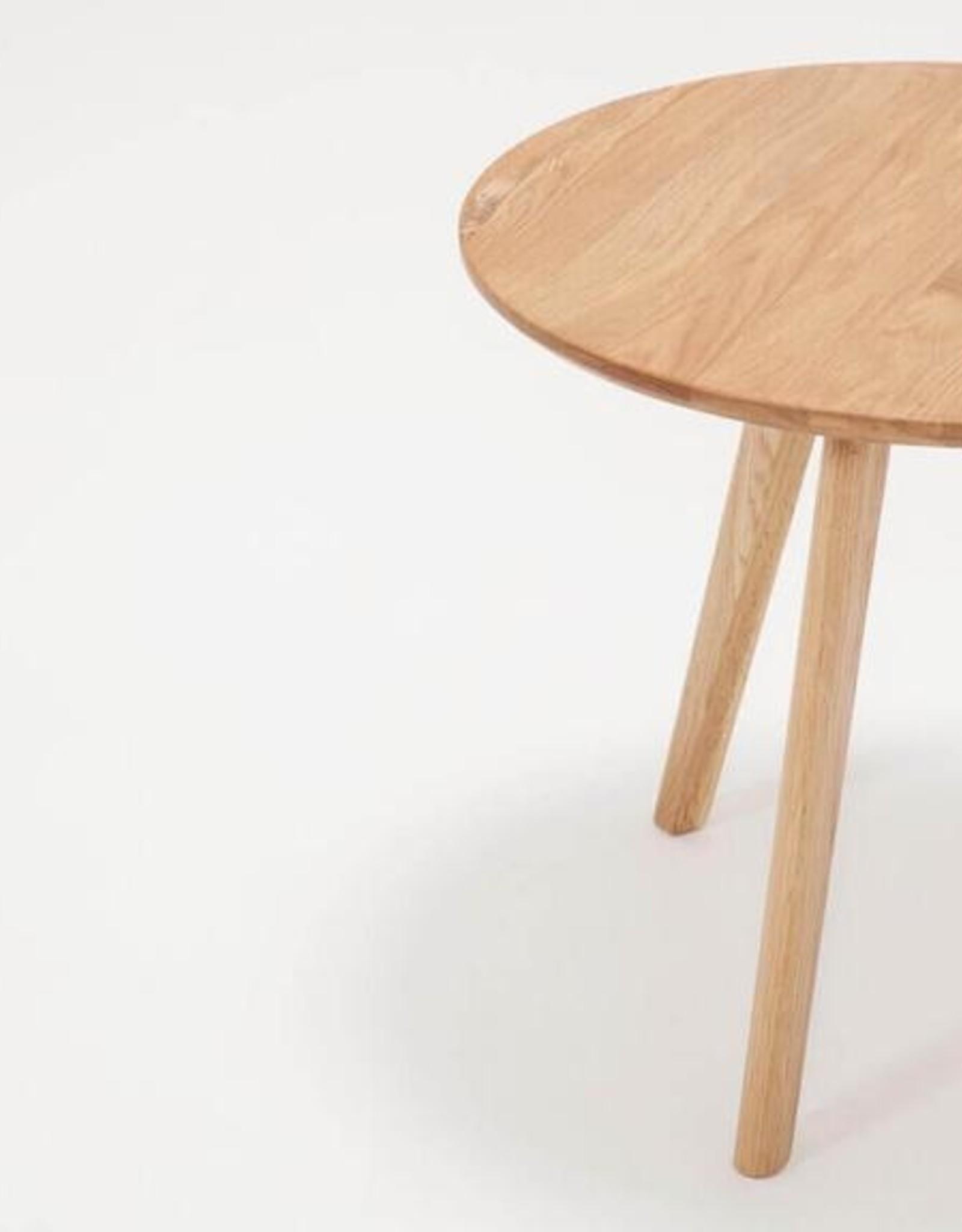 EQ3 Table End Table Oak
