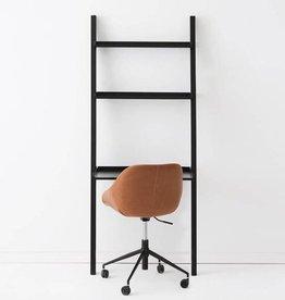 EQ3 Asterix 3 Ladder Desk Shelves-Black