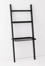 EQ3 Asterix 3 Ladder Desk Shelves-Black