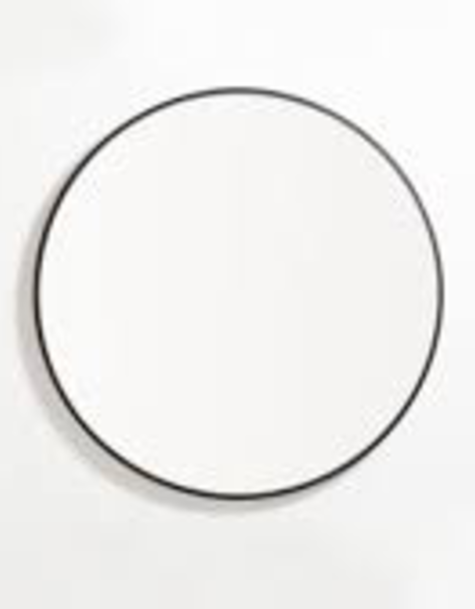 "EQ3 Conner Mirror-Black 24""x24"""