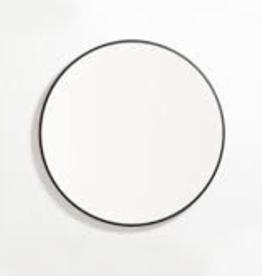 "EQ3 Conner Mirror-Black 24""x24"""