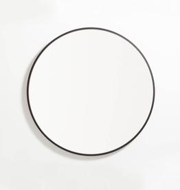 "EQ3 Conner Mirror-Black-Large 31.5"" x 31.5"""