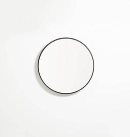 """EQ3 Conner Mirror-Black-Small 19"""" x 19"""""""