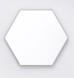 EQ3 Hex Mirror-Black-Extra Large