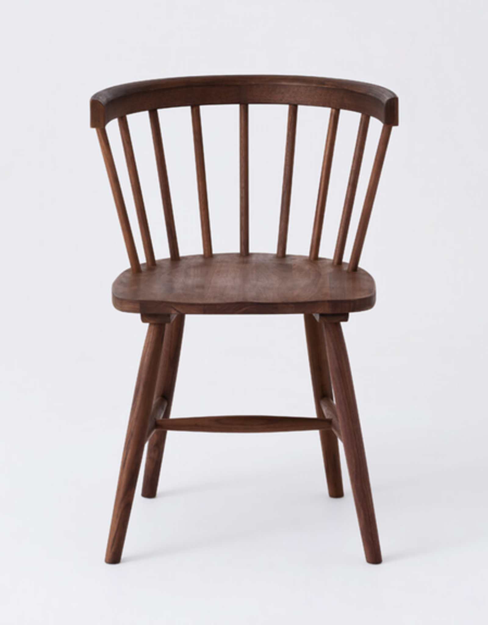 EQ3 Lyla Arm Chair-Walnut