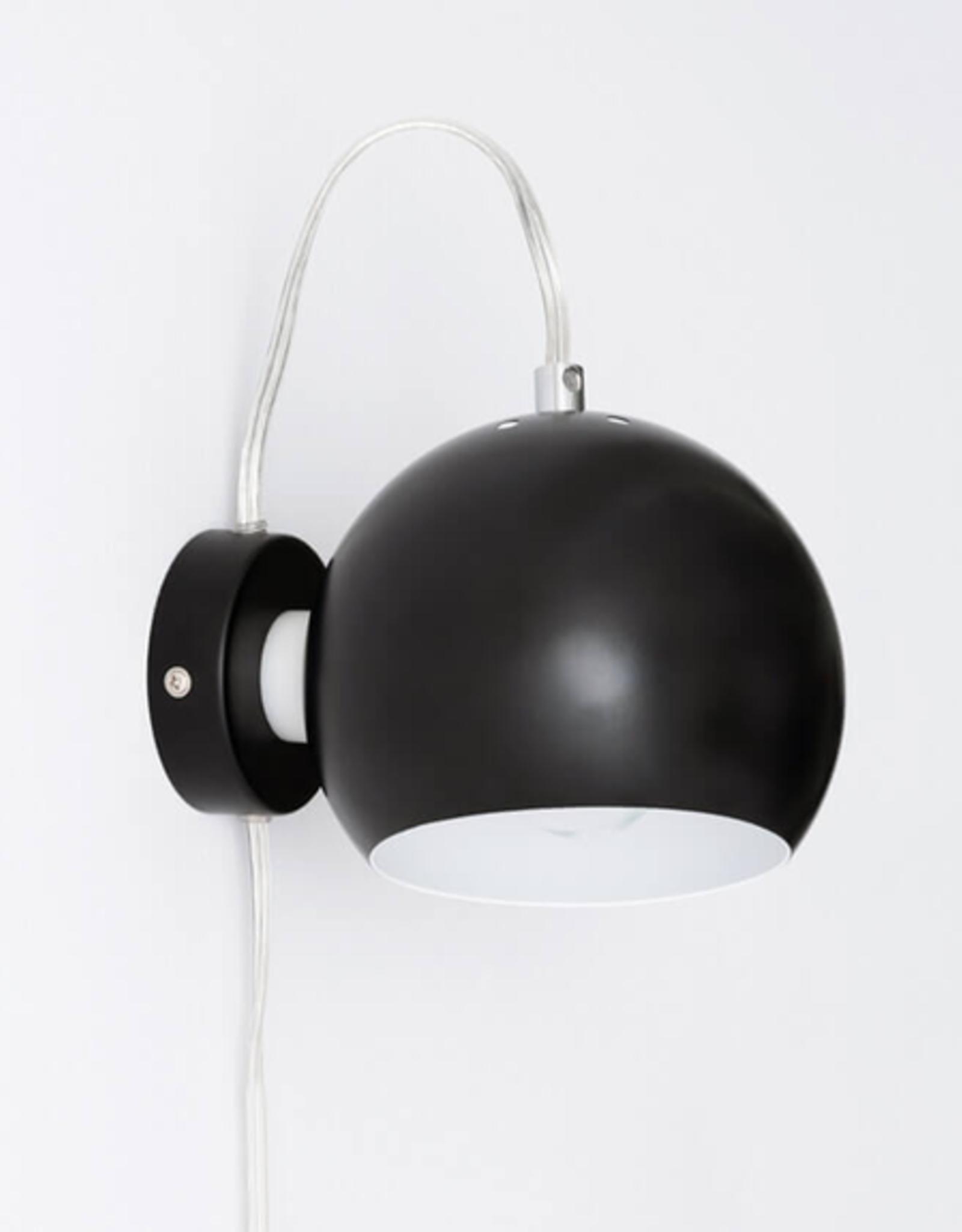 EQ3 Ball Wall Lamp-Black