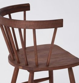 EQ3 Lyla Arm Chair-Walnut