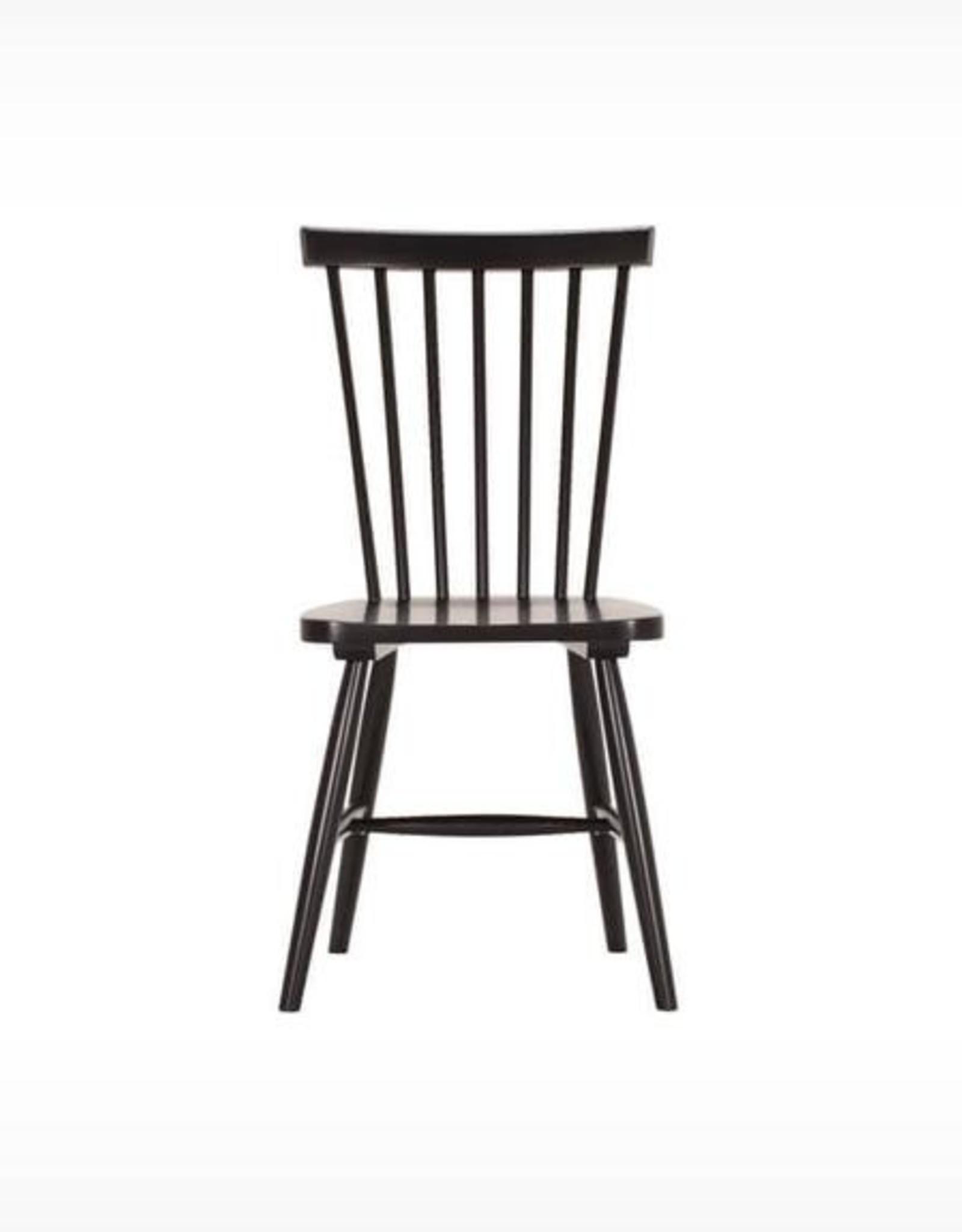 EQ3 Lyla Side Chair-Black