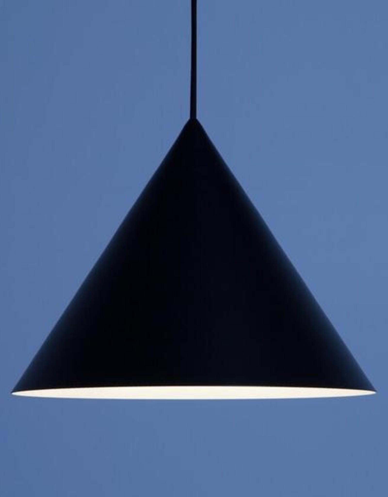 EQ3 Small Cone Pendant-Black