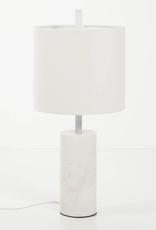 EQ3 Drum Table Lamp-White