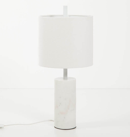 EQ3 Drum Table Lamp-White