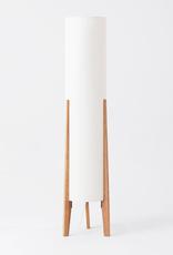 EQ3 Tube Floor Lamp - Oak