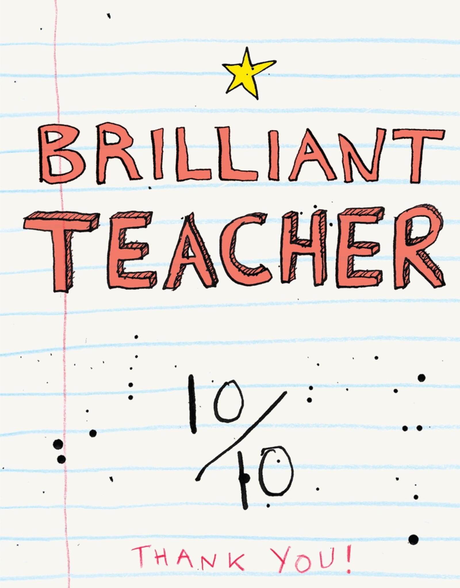 Brilliant Teacher