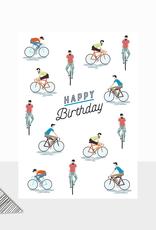 Birthday Cyclists
