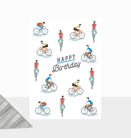 Birthday Cyclists