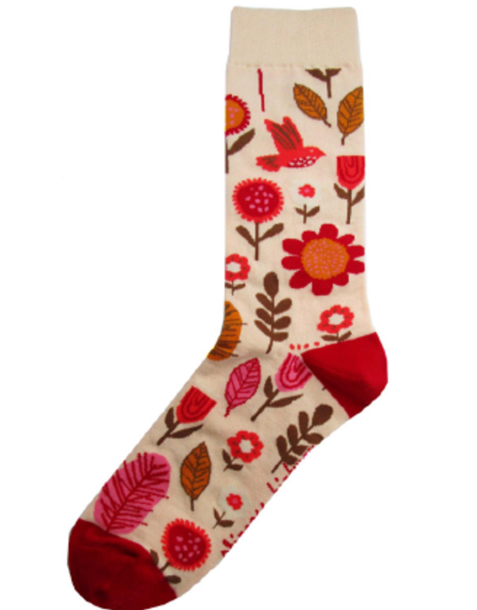 Geraldine Sock Cream