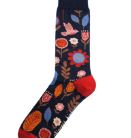 Geraldine Socks Navy
