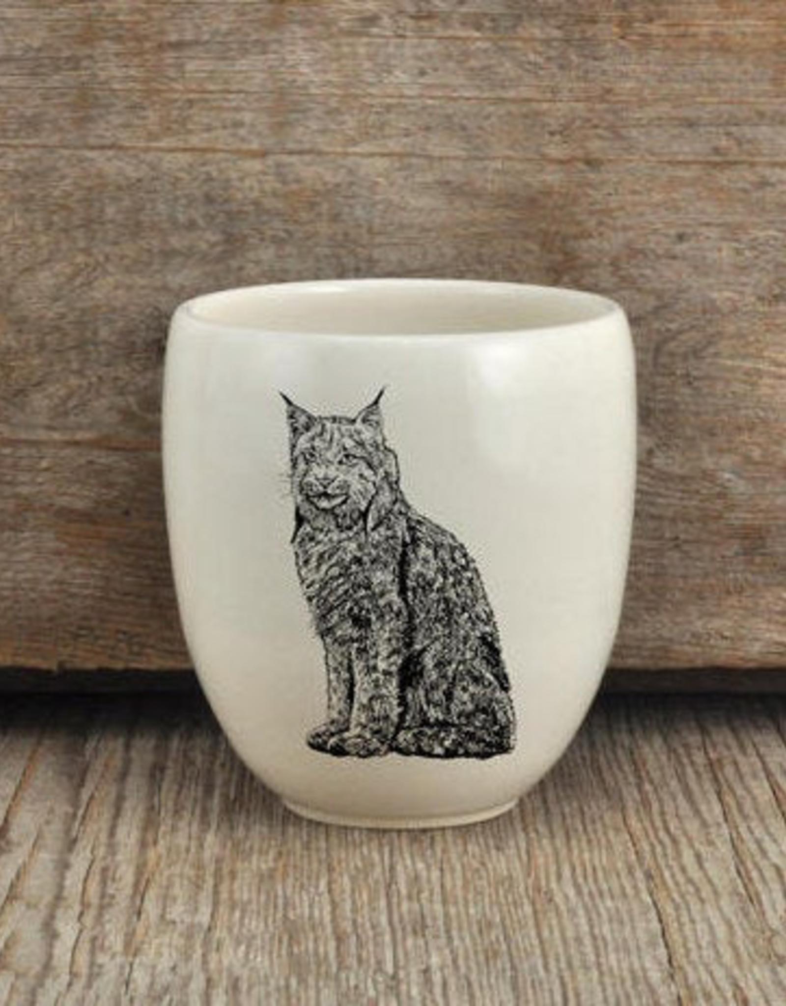 Artisan Made Tumbler - Lynx