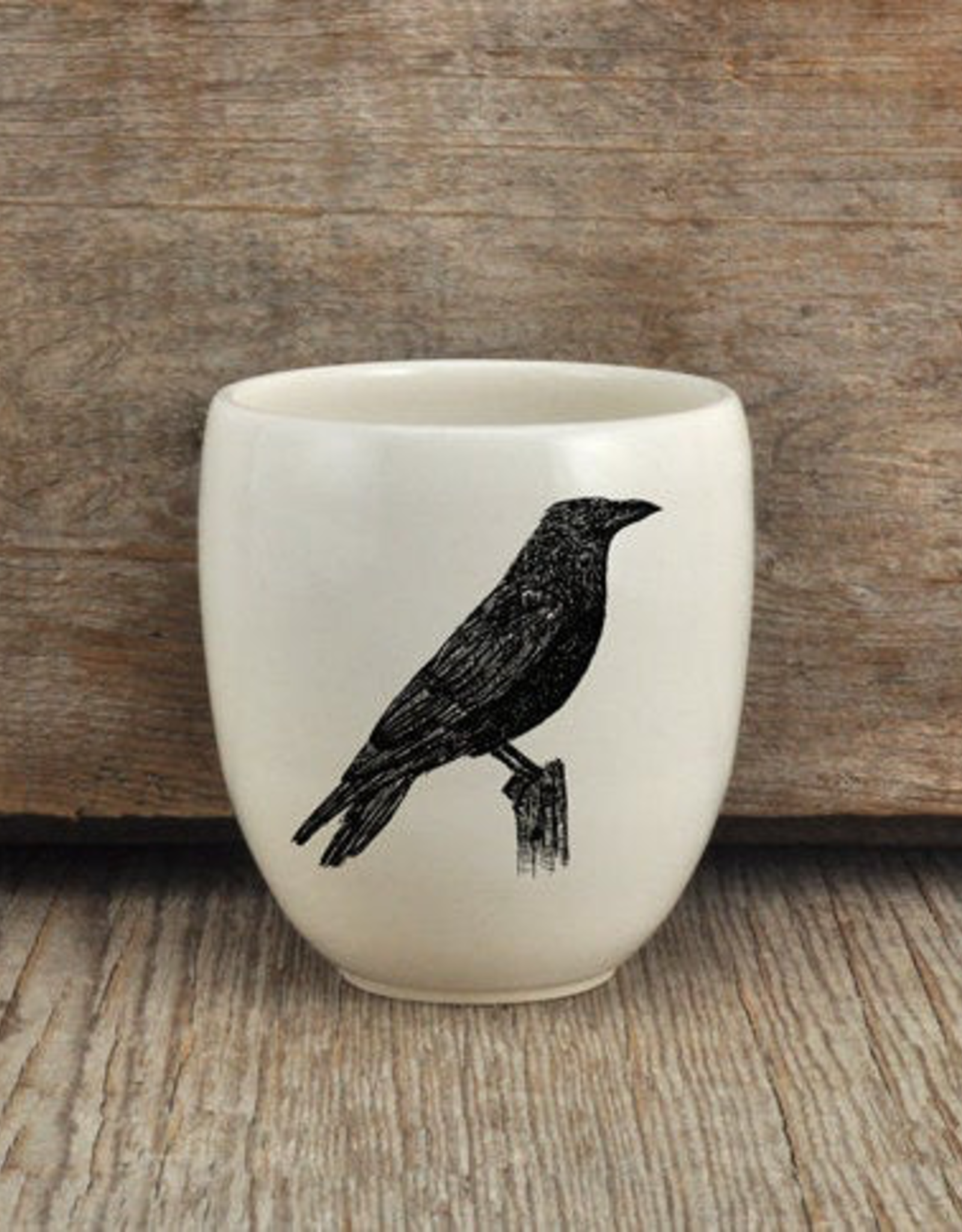 Artisan Made Tumbler - Crow