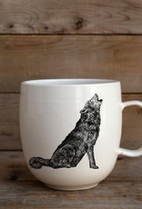 Artisan Made Mug - Wolf