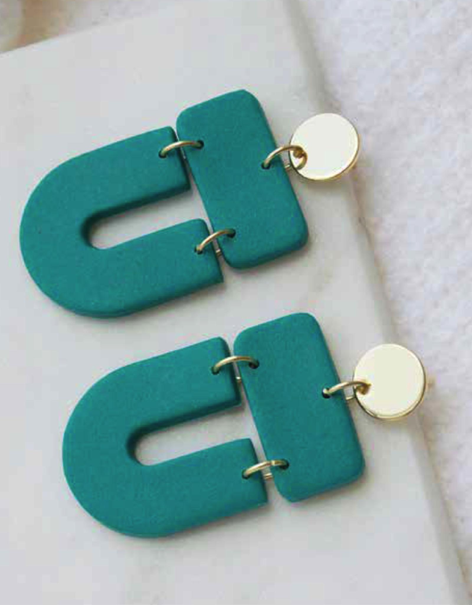 Baby Erica Earrings Green