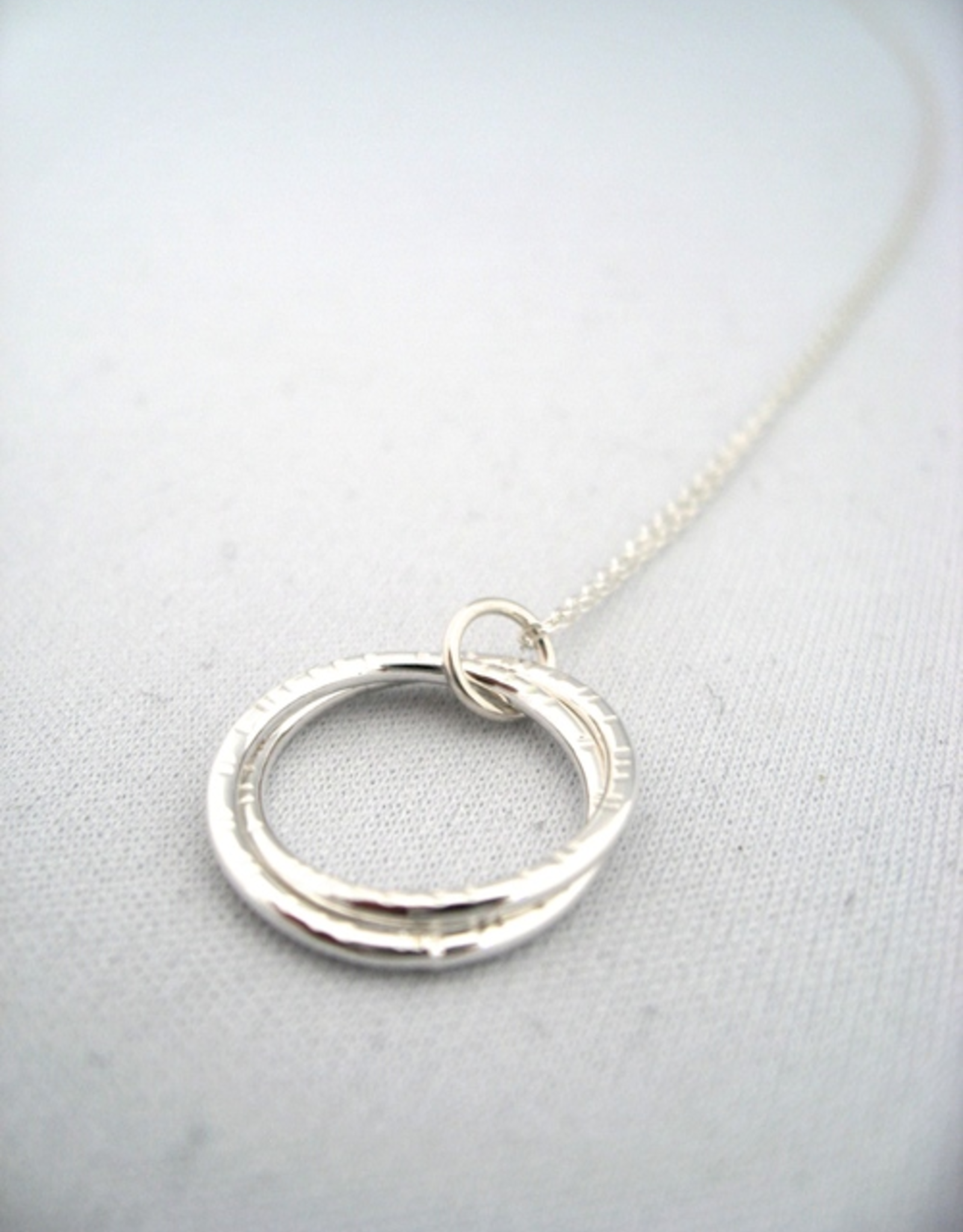 "Lindsay Necklace 18"" Sterling Silver"