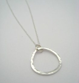 """Home Necklace 18"""" Sterling Silver"""