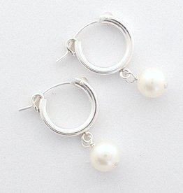 Maggie Earrings Freshwater Pearl Sterling Silver