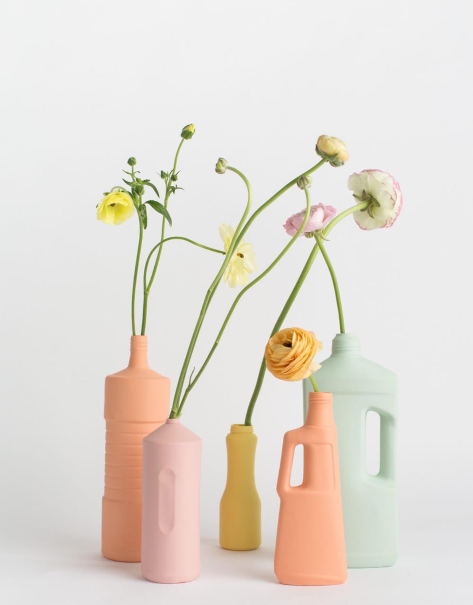 Porcelain Bottle Vase #9 Orange