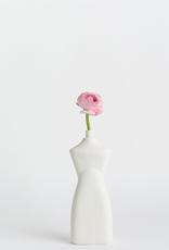 Porcelain Bottle Vase #8 White