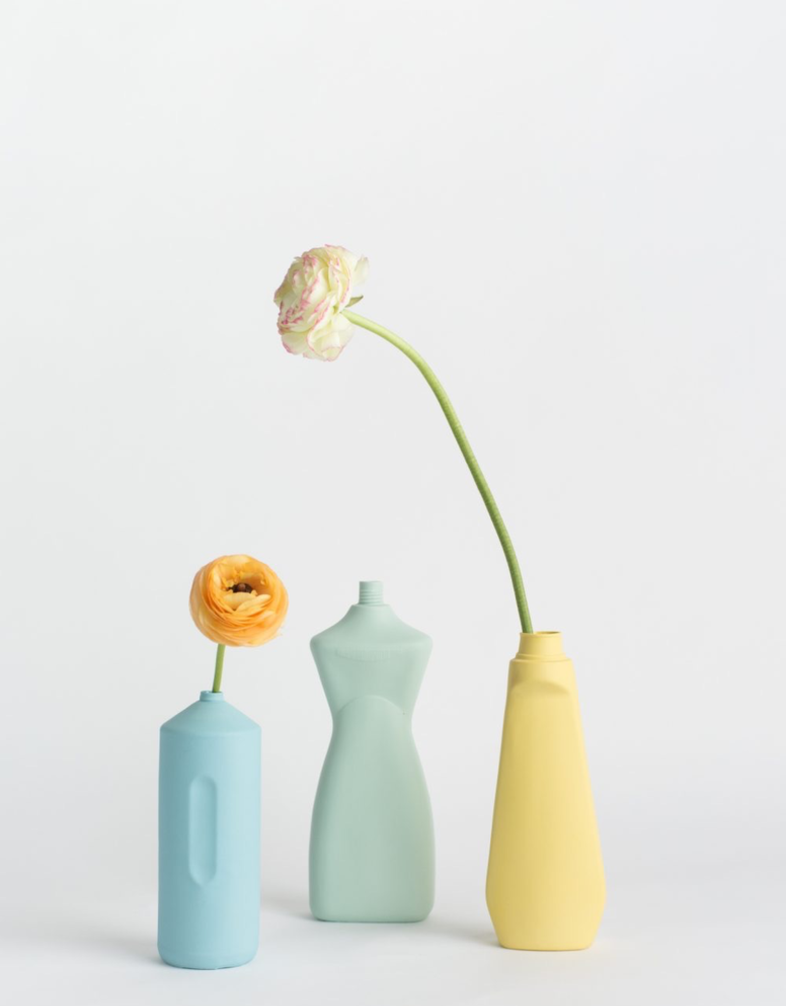 Porcelain Bottle Vase #8 Mint