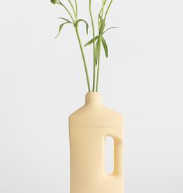 Porcelain Bottle Vase #3 Yellow