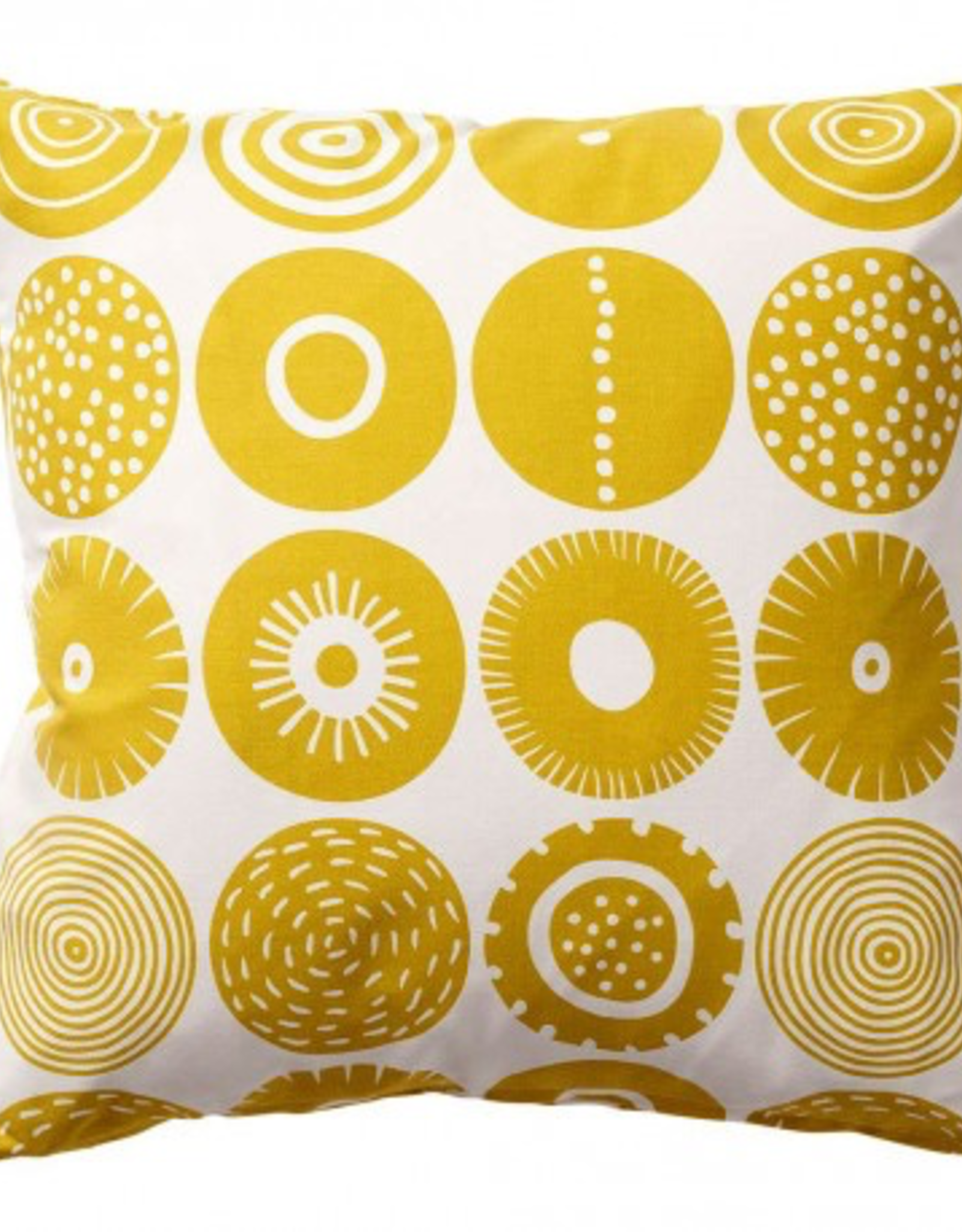 Candy Cushion (Cover only) Sweden - Yellow 18""
