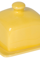 Square Butter Dish Lemon