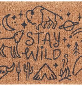 Stay Wild Doormat