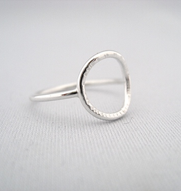 Life Ring Sterling Silver