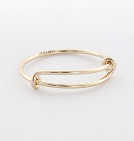 Anna Ring Gold Fill O/S