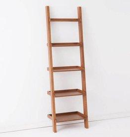 EQ3 Asterix 5 Ladder Shelves-Walnut