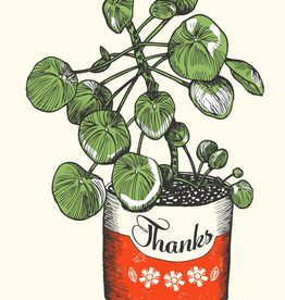 Potted Thanks