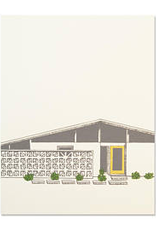 Mid Century House Yellow